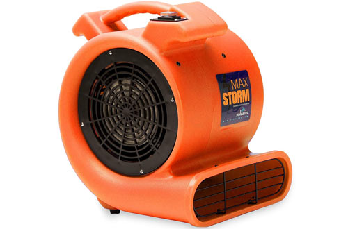 urable Lightweight Air Mover Carpet Dryer Blower Floor Fan