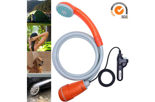 Anglink Upgraded Portable Camping Shower