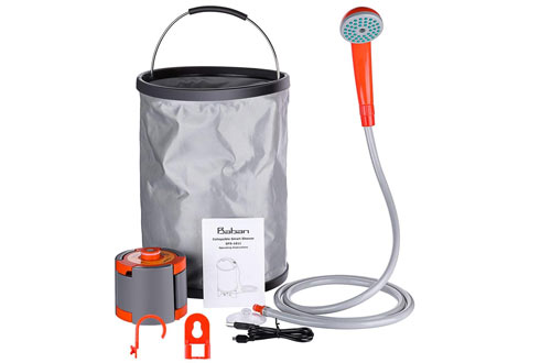 Top 10 Best Portable Camping Showers Reviews In 2020