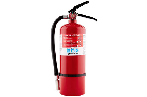 First Alert 5 Pound Rechargeable Extinguisher