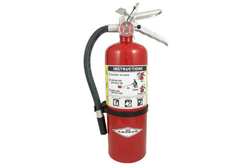 Fire Extinguisher, with Wall Bracket