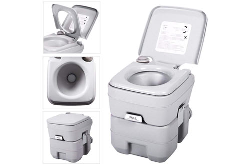 Portable Camping Toilet : Top 10 best portable camping toilets for travel reviews in 2019