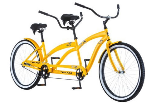 Kulana Lua cruiser spring saddles Tandem Bike