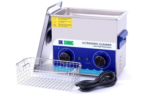 Commercial Ultrasonic Gun Cleaner Heated