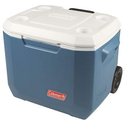 3. Coleman 50-Quart Wheeled Cooler