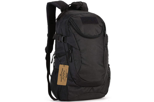 ArcEnCiel Water-Resistant Military Backpack