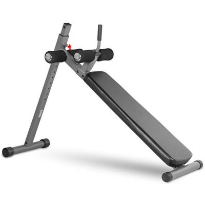 9. XMark Fitness 12 Position Adjustable Ab Bench