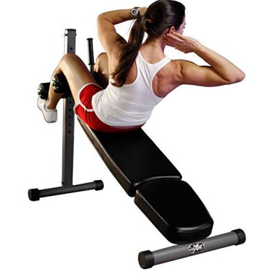 2. XMark 12 Position Adjustable Sit-Up Ab Bench