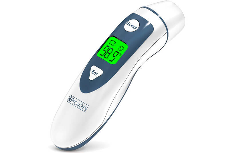 DMT-489 Ear Thermometer with Forehead Function