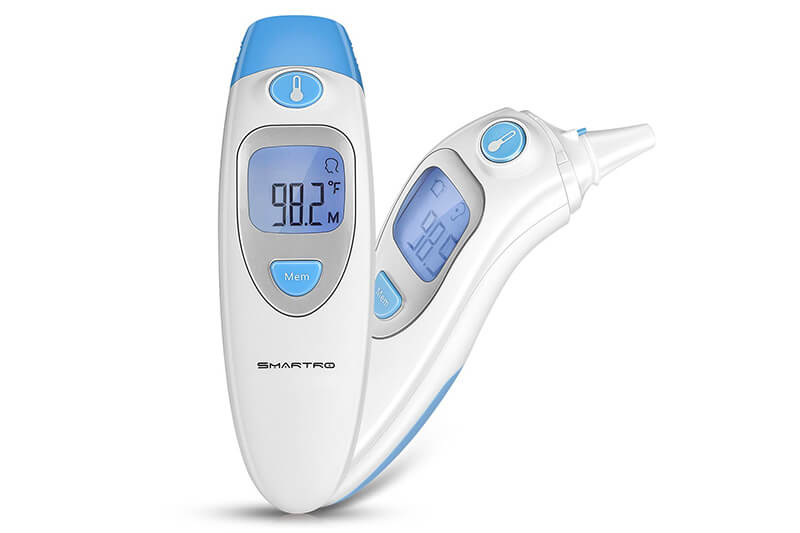 SMARTRO Ear and Forehead Thermometer