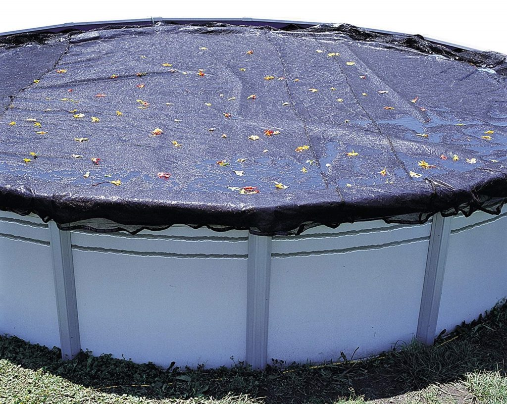 1. In The Swim LifeSmart 28' Rnd Leaf Net Cover for Above Ground Pools