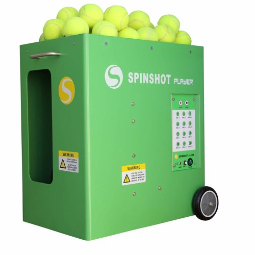 1. Spinshot-Player Tennis Ball Machine with Phone Remote Supported