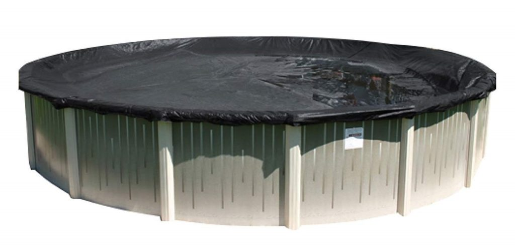 10. Buffalo Blizzard 24-Foot Round Winter Cover for Above-Ground Swimming Pools (Deluxe Plus)