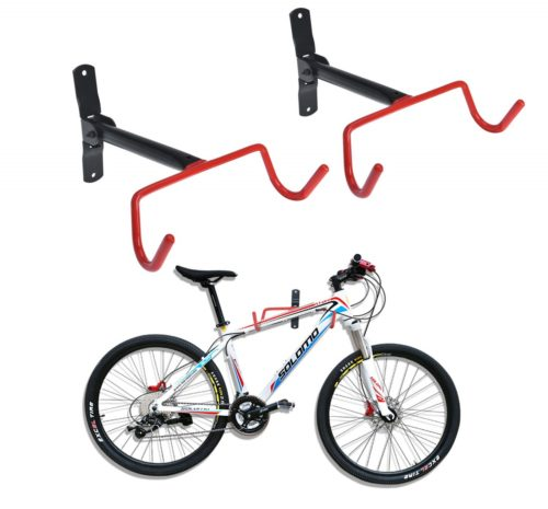 12. Auwey Bike Wall Mount Rack Storage Hanger Foldable Bicycle Holder Hook Bicycle Bike Rack Storage