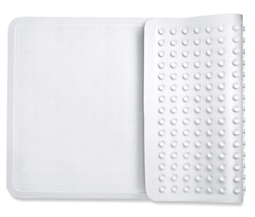 15. bath mats non slip shower mats, with powerful Gripping Technology Fits Any Size Bath Tub BPA-Free
