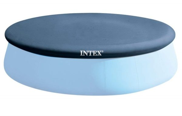 2. Intex 15-Foot Round Easy Set Pool Cover