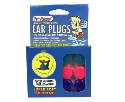 2. Putty Buddies Original Swimming Earplugs - The Best Swimming Ear Plugs - Block Water - Super Soft