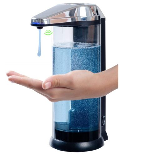 2. Secura 17oz,500ml Premium Touchless Battery Operated Electric Automatic Soap Dispenser