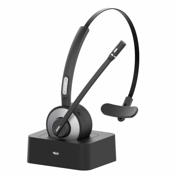 2. Trucker Bluetooth Headset,Willful Wireless Headset with Microphone