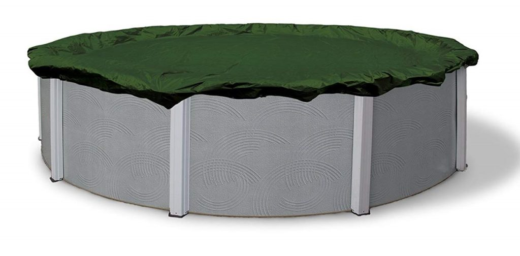 4. Blue Wave Silver 12-Year 24-ft Round Above Ground Pool Winter Cover