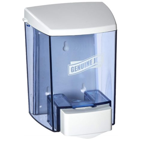 6. Genuine Joe GJO29425 Bulk Fill Soap Dispenser, Manual, 30 fl oz (887 mL), Smoke