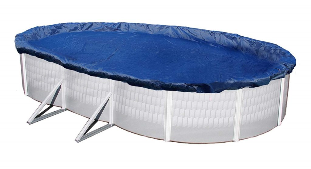 7. Blue Wave Gold 15-Year 33-ft Round Above Ground Pool Winter Cover