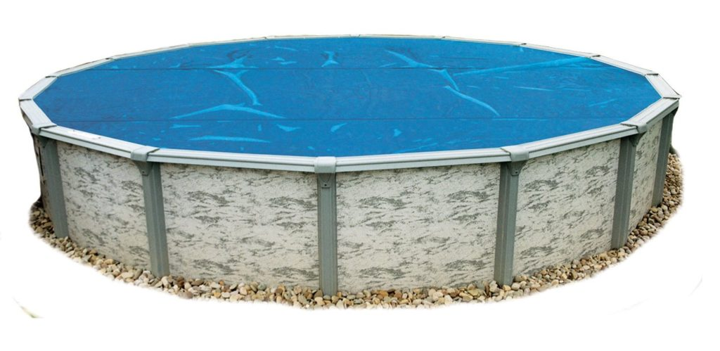8. Blue Wave NS110 8-mil Solar Blanket for Round Above-Ground Pools, 18-ft, Blue