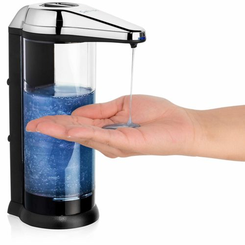 9. Touchless soap Dispenser - ANTI-LEAKAGE Soap Dispenser-Accurate Infrared Motion- Rusting Free