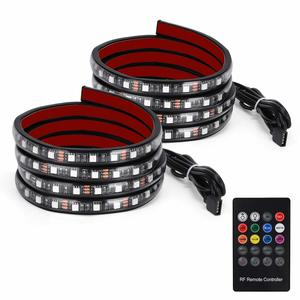 11. YITAMOTOR 2x 60 inches RGB LED Truck Lights Strip