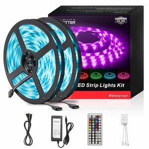 12. DAYBETTER Led Strip Lights 32.8ft RGB 300 LEDs Strips Kit