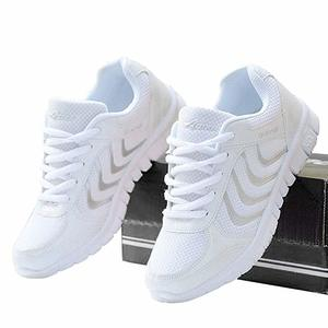 17. DUOYANGJIASHA Women's Athletic Breathable Casual Sneakers