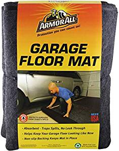 Armour All AAGFMC17 Charcoal garage Floor Mat