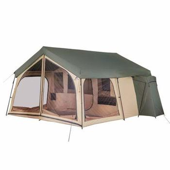 10. Ozark Trail 14 Person Camping Spring Lodge Cabin Tent