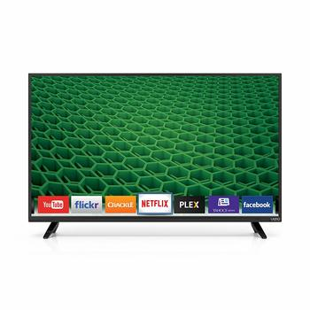 4. VIZIO D40-D1 D-Series 40 Inch Full-Array LED Smart Black TV 1920 x 1080