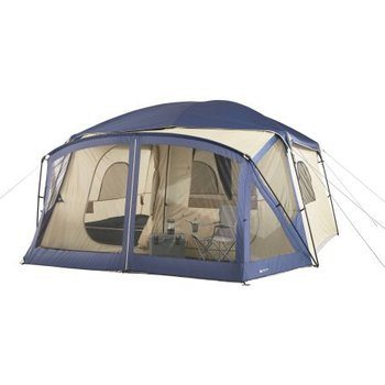 9. Ozark Trail 12-Person Tent for Cabin, Screen Porch