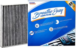 Spearhead Premium Breathe Easy Cabin Filter, Up to 25% Longer Life wActivated Carbon