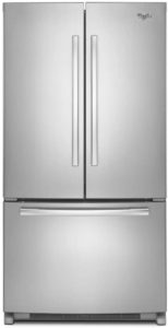Whirlpool WRF540CWBM 19.6 Cu. Ft. Stainless Counter-Depth French Door Refrigerator